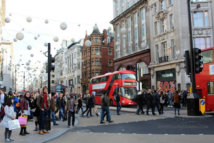 خیابان-آکسفورد-لندن